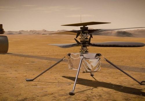 मंगल ग्रहमा पहिलो पटक इन्जेनुइटी हेलिकप्टर उडानको परीक्षण गरिँदै