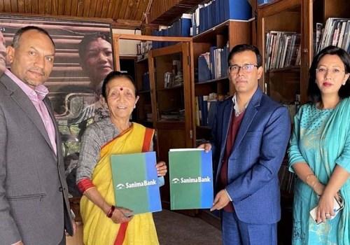सानिमा बैंक र माइती नेपालबीचको सम्झौता नवीकरण