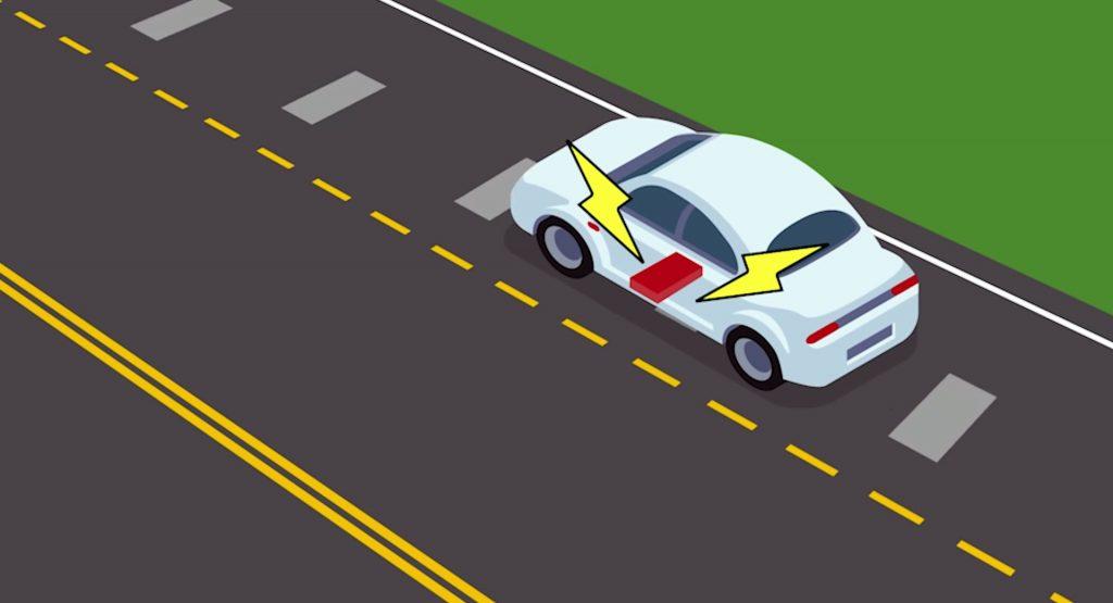रकेट वैज्ञानिकहरू नयाँ सडक विकास गर्दै जसले इलेक्ट्रिक कार चार्ज गर्न सक्दछ