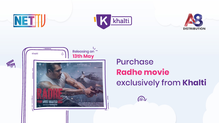 Salman Khan's Radhe distribution partnership between A8 and Khalti