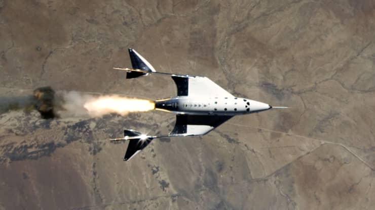 भर्जिन ग्याल्याक्टिकको स्पेसप्लेन भीएसएस यूनिटीको सफल उडान पूरा