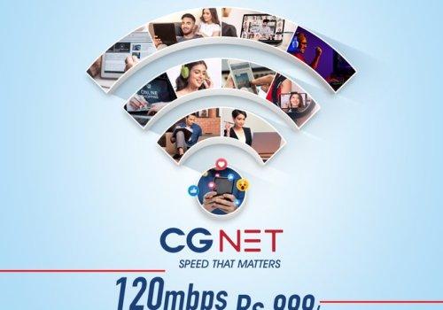 सीजी कम्युनिकेसन्सको इन्टरनेट सेवा शुरु, मासिक ९सय ९९ रुपैयाँमा १२० एमबीपीएसको स्पीड