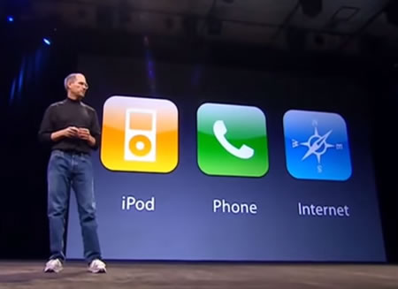 Even Steve Jobs said reinvent when he announced the iPhone.