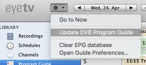 EyeTV EPG Problems - Tech Stuff