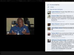 Fake Facebook account of Chief of Defence Staff of Nigeria