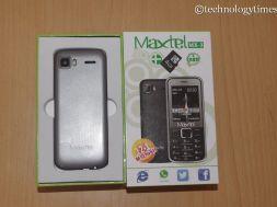 Nigerian dual-SIM phone, Maxtel MX-3