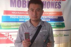 The alleged fake phone 'kingpin', Mr. Lin Tian Huan