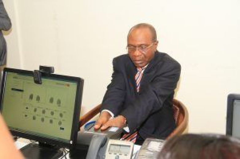 Mr. Godwin Emefiele, Governor of the Central Bank of Nigeria (CBN)