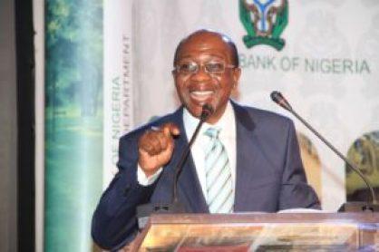 Mr. Godwin Emefiele, Governor, Central Bank of Nigeria (CBN)