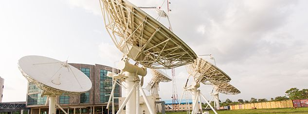 NIGCOMSAT Satellite Ground Station in Abuja