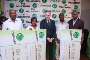 Globacom: How 20 millionaires emerged in Overloaded promo 11