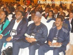 Cross section of attendees at DEMO Africa 2014 in Lagos, Nigeria