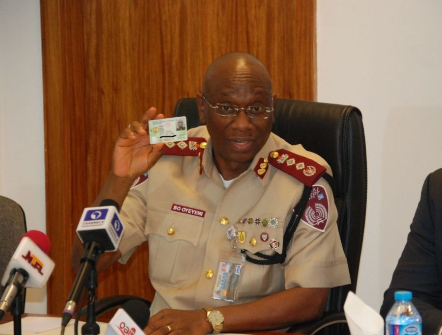 Road Safety 'ready to harmonise biometric data' with NIMC amid Buhari's order