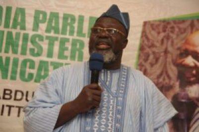 Adebayo Shittu,Hon. Minister of Communication