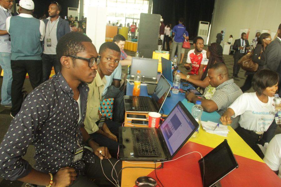 Participants at Lagos Social Media Week