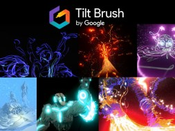 3D artwork drawn in Tilt Brush