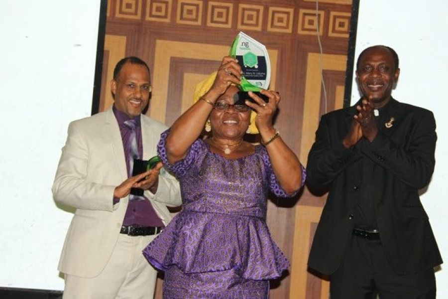 Technology Times file photo shows the maiden edition of Nigeria Internet Registration Association (NIRA) .ng Web Awards 2016 held in Lagos.