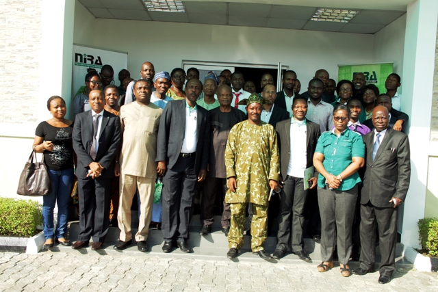 NIRA members in group photograph at the 8th AGM of the body