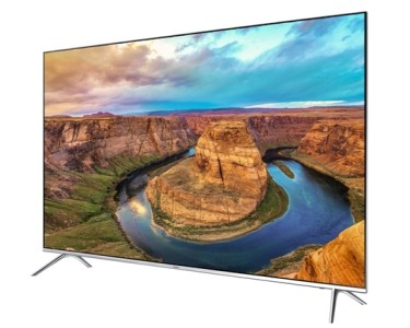 Samsung's KS8000 SUHD Flat TV