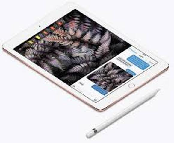 The 9.7-inch iPad Pro with its Pencil