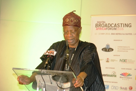 Alhaji lai Mohammed, Nigeria's minister of information&culture