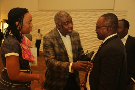 Networking session at the Digital Broadcasting Africa Forum 2016 Underway Lagos:Photo Credit Kehinde Shonola of Technology Times