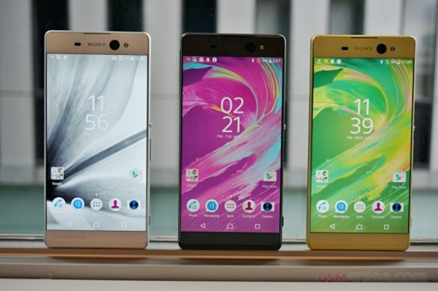 Xperia XA Ultra in different colours