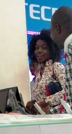 Picture of Akinade Tofunmi posted of the Facebook wall of EFCC
