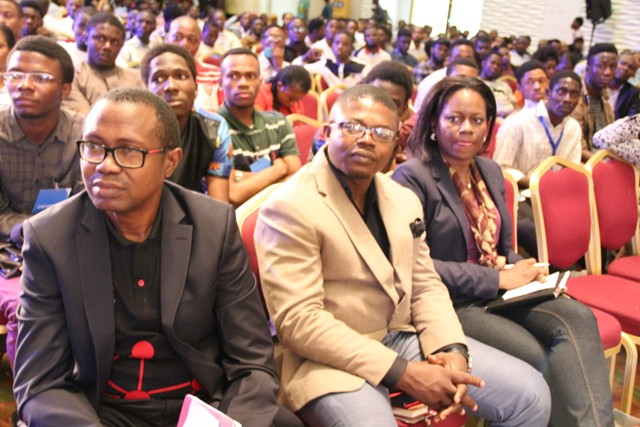 Cross section of participants at the #TechPlus2016 held at the Eko Hotel and Suites in Lagos