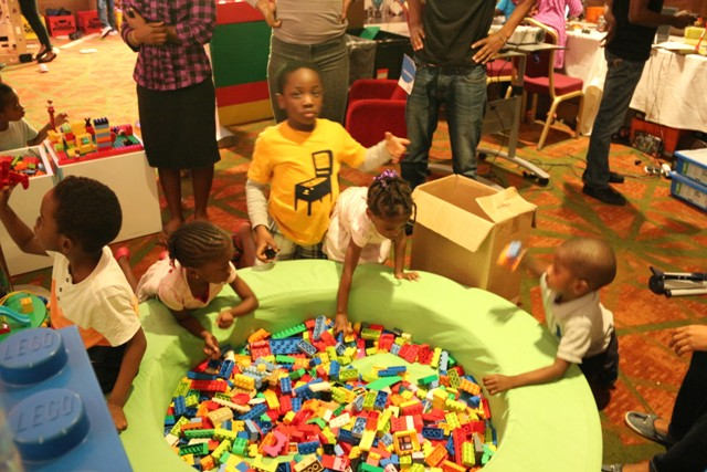 Technology Times file photo shows children seen having fun at kiddies zone at TechPlus 2016
