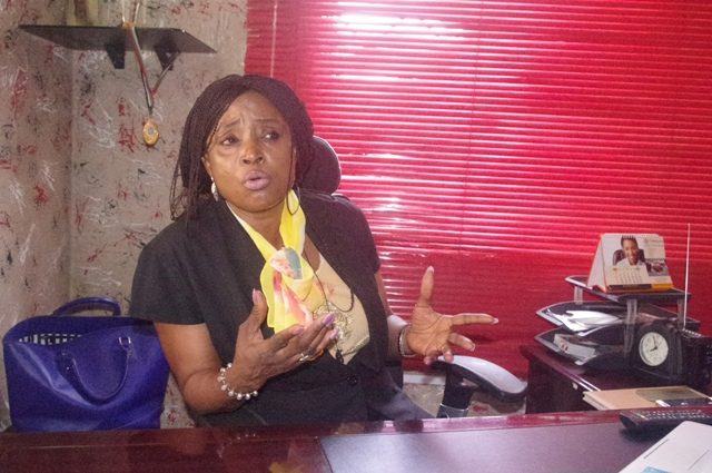 Mrs Adenike Shittu, MD Mojoy Computer who pulled out of the CAPDAN presidential race