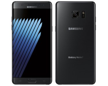 The Samsung Galaxy Note 7 smartphone