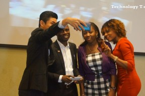 people-seen-taking-selfie-at-a-mobile-phone-launch-in-lagos