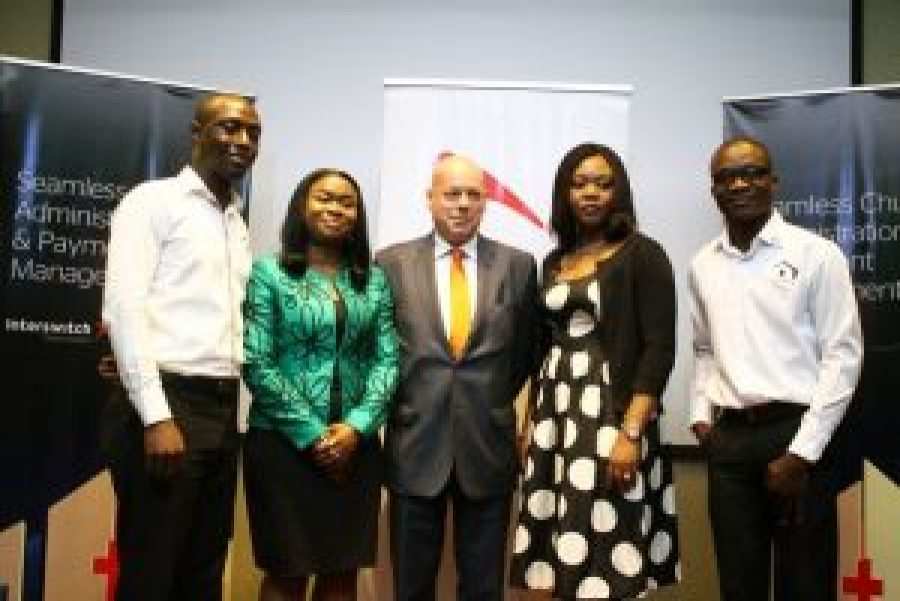 Interswitch top officials at the launch