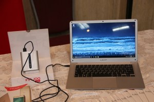 Innjoo Leap | World's slimmest laptop hedges 'power bank' charging feature 14