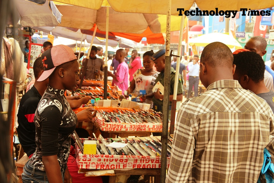 Computer Village located in Ikeja, Lagos is arguably the biggest market for computers and allied tech products in Nigeria and the West African sub region.