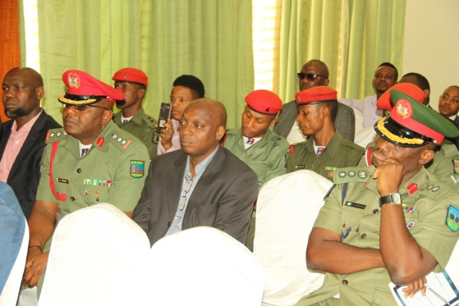 Cross section of attendees seen at the cyber security awareness forum held in Lagos