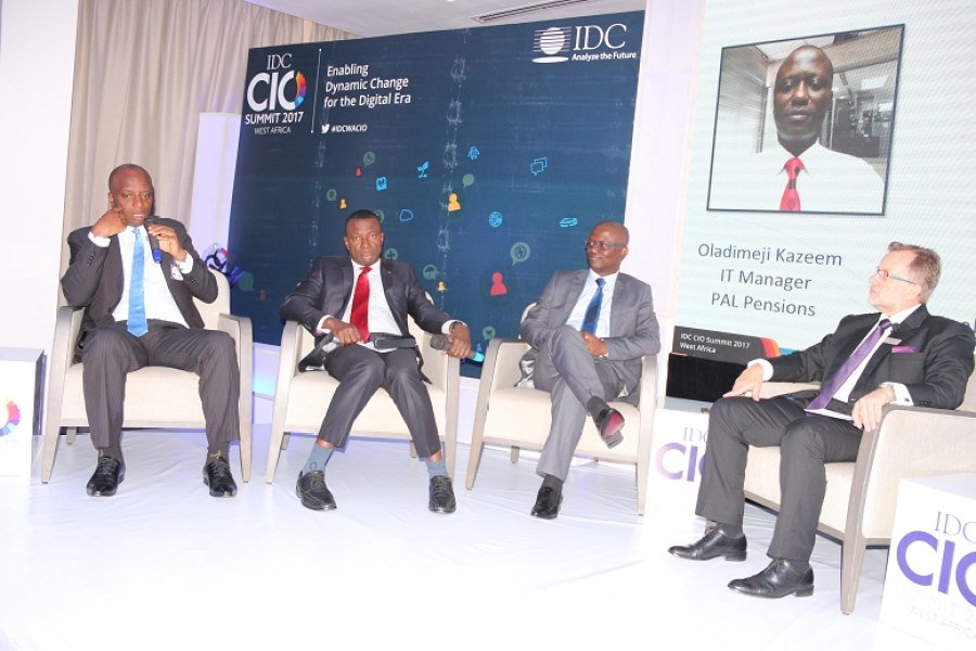 The IDC West Africa CIO Summit 2017 held May 18, 2017 at the Renaissance Hotel, GRA in Ikeja, Lagos offered a unique opportunity for the region's leading CIOs to network with the industry's brightest lights, discover cutting-edge insights into the latest tech trends, and share invaluable experiences with their peers, particularly on digital transformation.