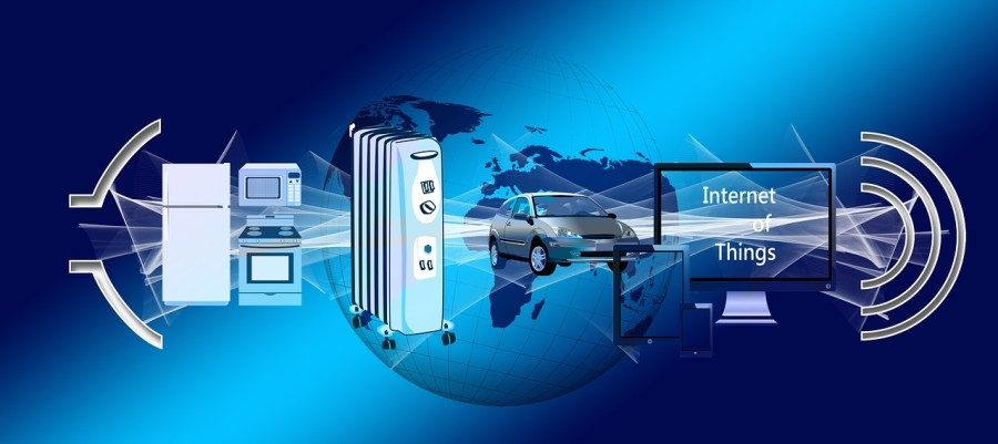 """IoT refers to a network of physical devices, vehicles, buildings, and other items (often called """"smart devices"""") embedded with electronics, software, sensors, actuators, and network connectivity enabling these objects to collect and exchange data."""