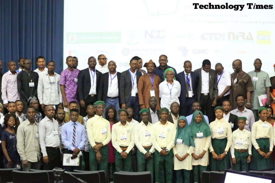 Pictures of participants at the NIGF 2018 event