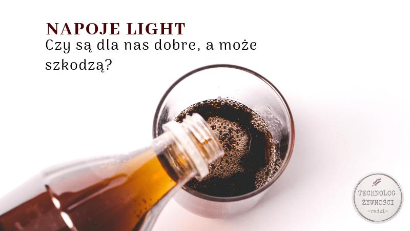 light dietetyczny cola napoje light