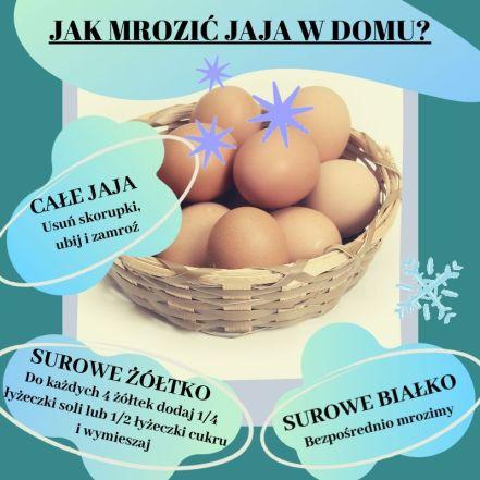 mrozić jaja