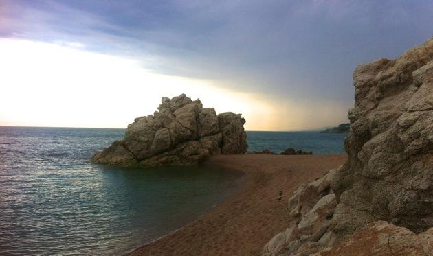 Roca Grossa beach, Barcelona