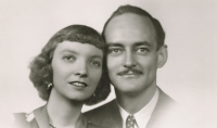 Madeleine L'Engle and Hugh Franklin