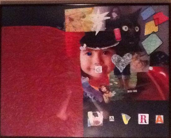 Davra Collage by Katie Armistead, circa 2006