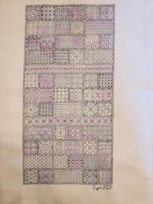 2020 Peppermint Purple Stitch-a-Long