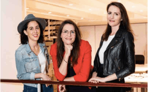 Les 3 femmes à l'origine de la start-up Kokoroe