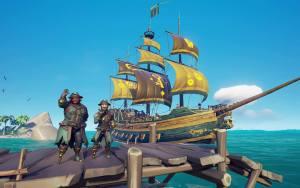 Disponible via Xbox One et Windows depuis le mois de mars 2018, Sea of Thieves arrive sur Steam le 3 juin 2020.