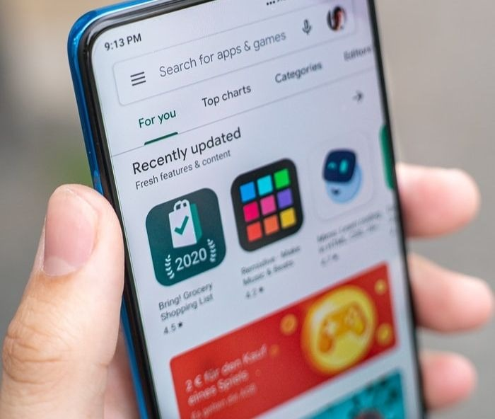 Google: le partage d'applications en peer-to-peer via le Play Store bientôt possible?