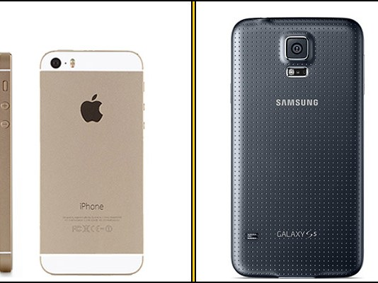 iPhone 5s still the best selling phone, followed by Samsung Galaxy S5